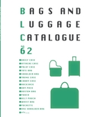 株式会社ウノフク bag luggage catalogue vol.62